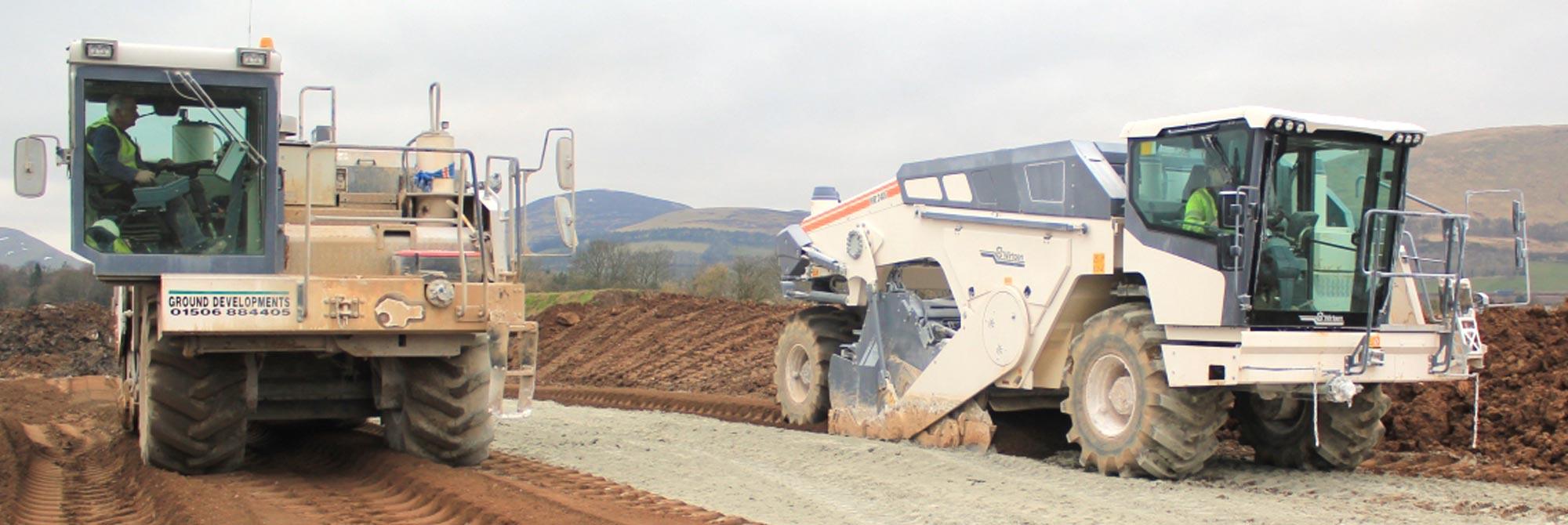 Soil Stabilisation Contactors