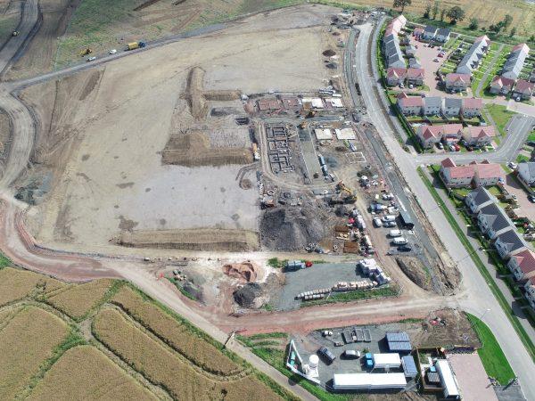 winchburgh ground engineered site