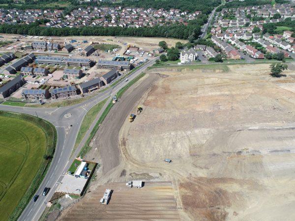ground engineered site at gilmerton